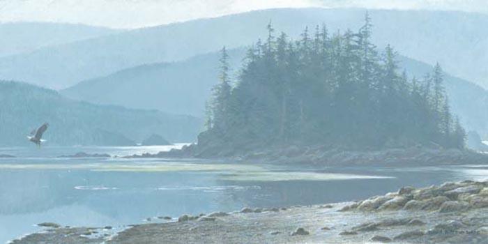 Along the Coast - Robert Bateman