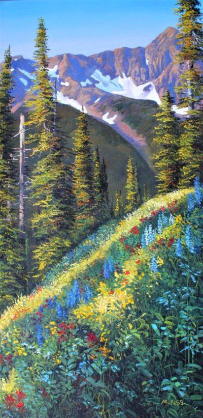 Alpine Garden II - Andrew Kiss