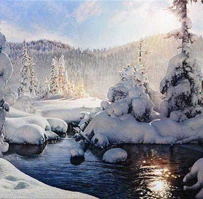 Alpine Light - Richard Mravik