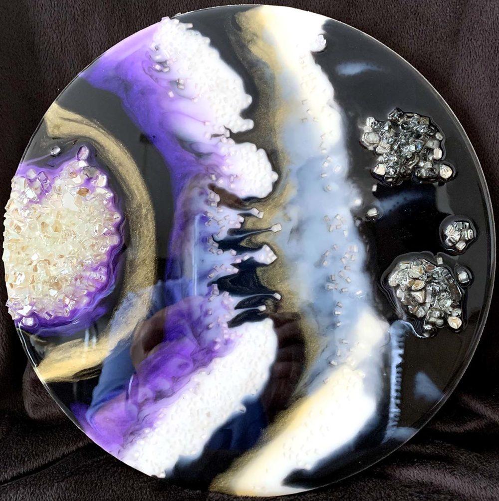 Amethyst Geode Round