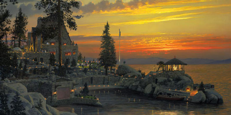 An Evening To Remember At Thunderbird Lodge, Lake Tahoe William S. Phillips