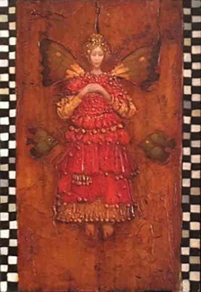 Angel with Two Fish - James Christensen