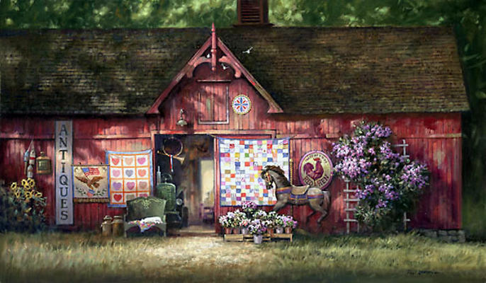Antique Barn Paul Landry