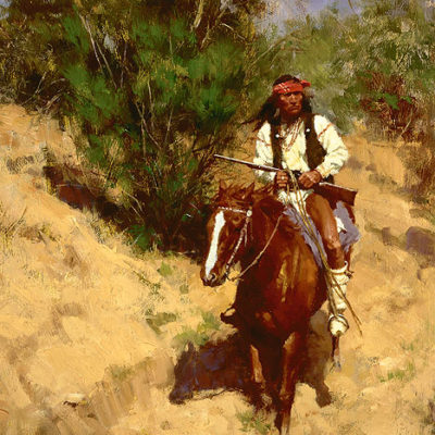 Apache Scout Howard Terpning