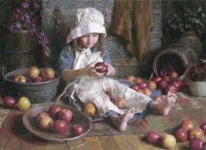 Apple Girl Morgan Weistling
