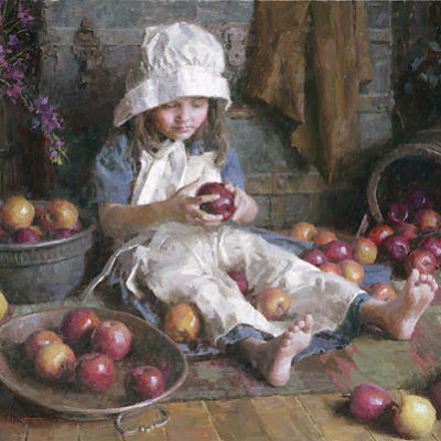 Apple Girl Morgan Weistling