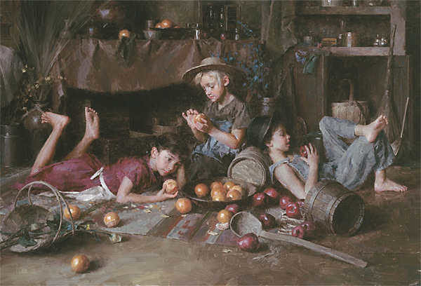Apples And Oranges Morgan Weistling