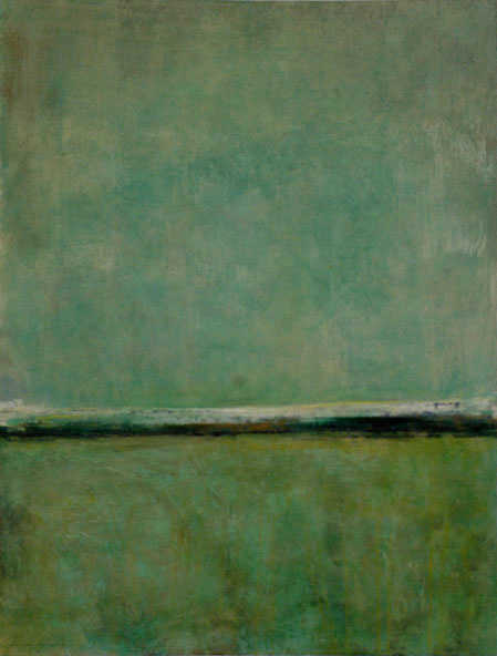 Aqua Abstract Fiona Hoop