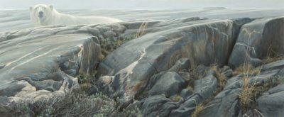 Arctic Landscape - Polar Bear - Robert Bateman