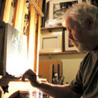 Artist Alan Wylie
