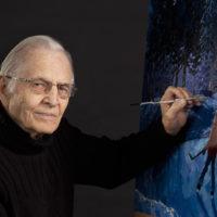 Artist Bill Brownridge