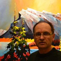 Artist Branko Marjanovic