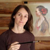 Artist Cristina Goia