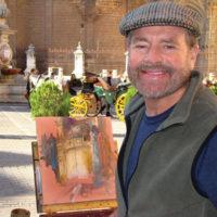Artist Curt Walters