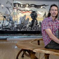 Artist Dave Hind