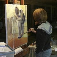 Artist Elsa Bluethner