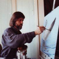 Artist Glenn Olson