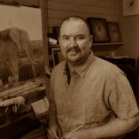 Artist Guy Combes