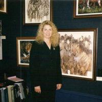 Artist Judy Larson