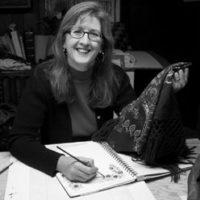Artist Larisa Cheladyn