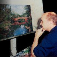 Artist Larry Dyke
