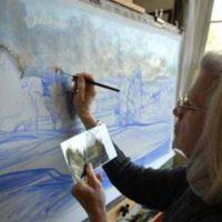 Artist Linda Hartough