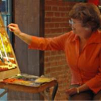 Artist Lois Bauman