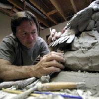 Artist Paul Brunelle