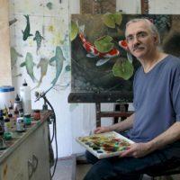 Artist Terry Gilecki