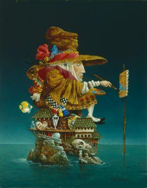 Artist's Island - James Christensen