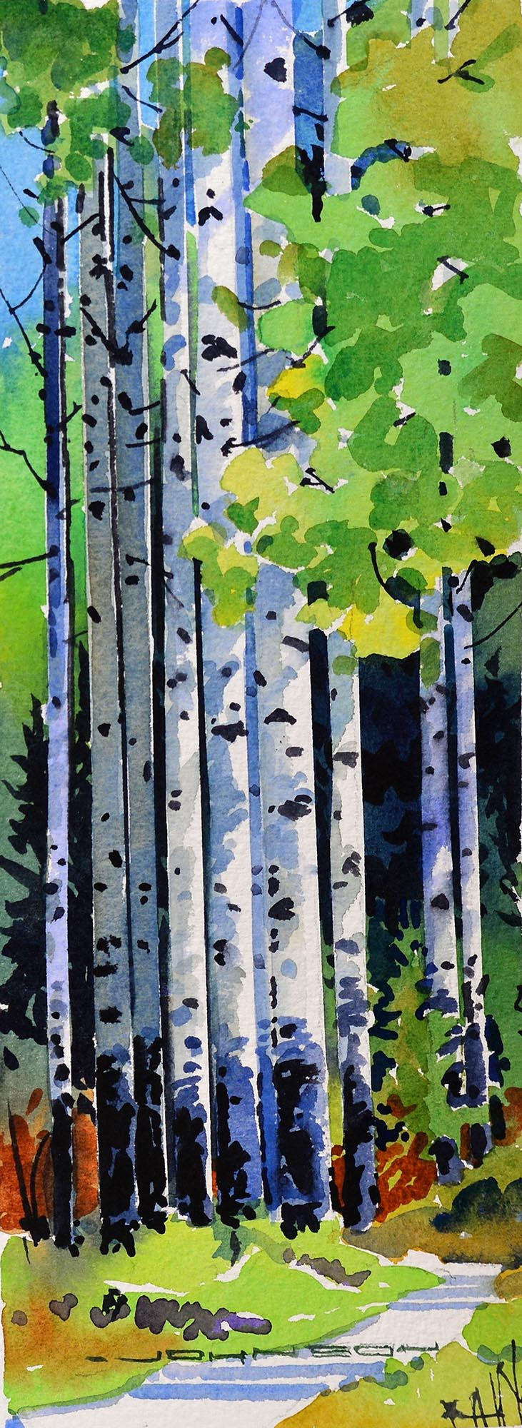 Aspen Trail - Gregg Johnson