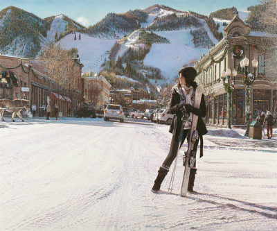 Aspen Winter Steve Hanks