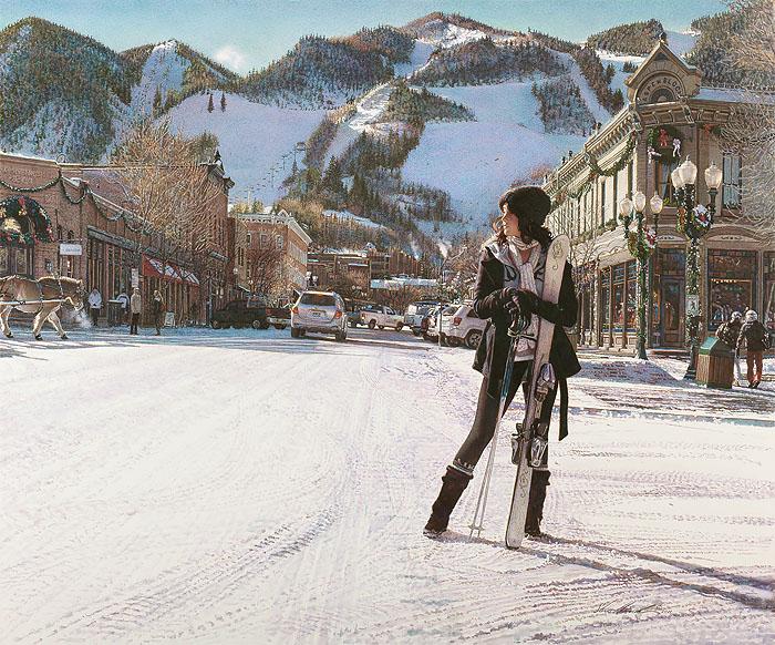 Aspen Winter Steve Hanks