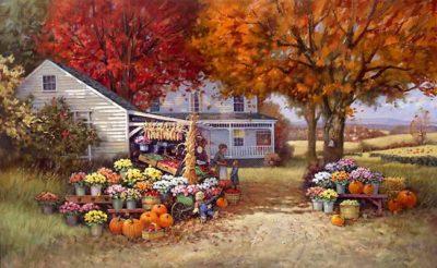 Aunt Martha's Autumn Heirloom Paul Landry