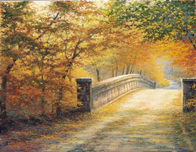 Autumn Bridge Charles White