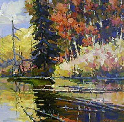 Autumn Brook Bi Yuan Cheng