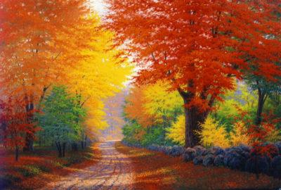 Autumn Invitation Charles White