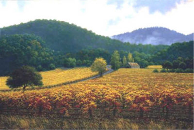 Autumn Vineyards Charles White