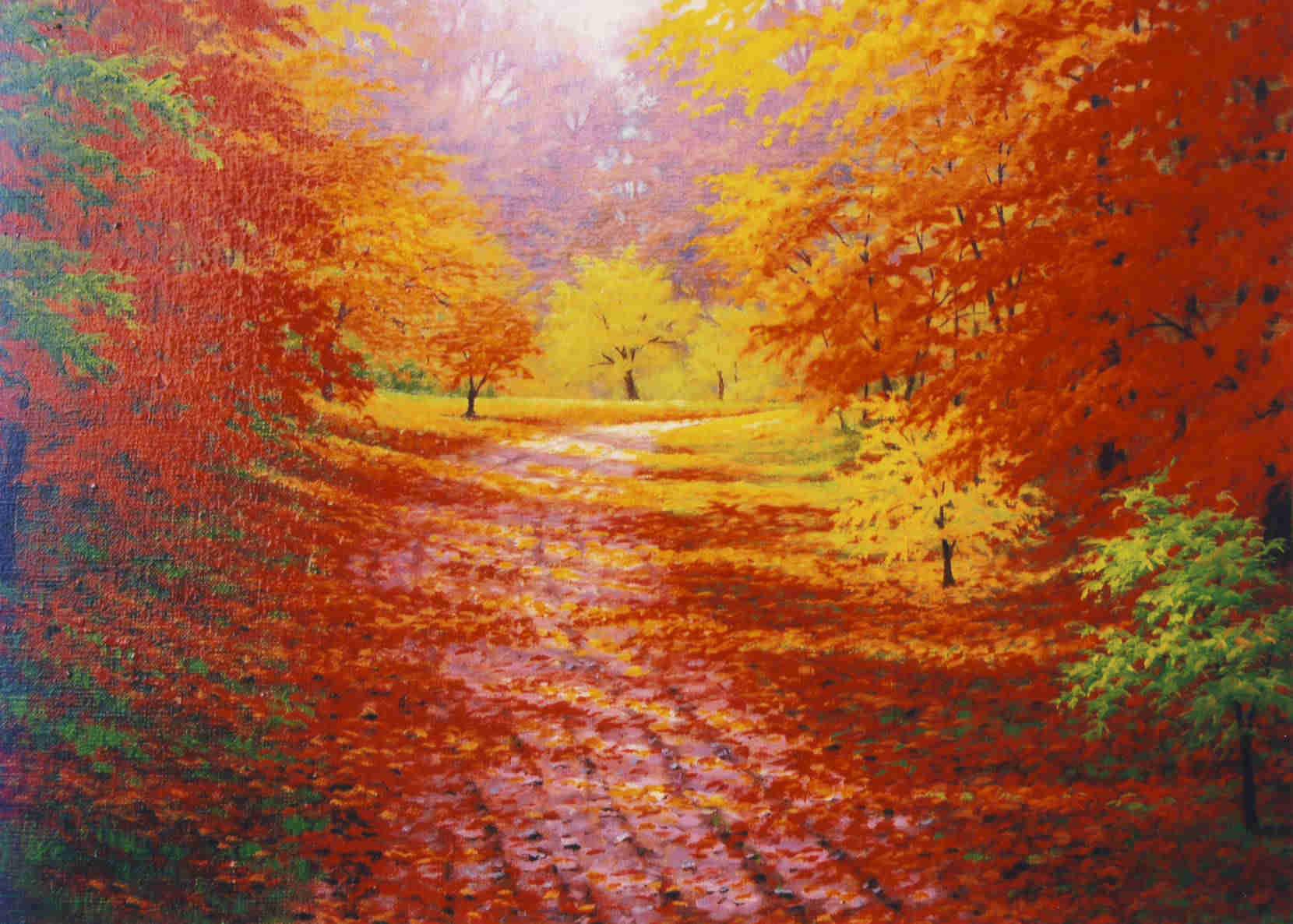 Autumn Warmth Charles White