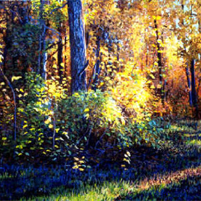Autumn's Evening Glow Karoll Dalyce Brinton