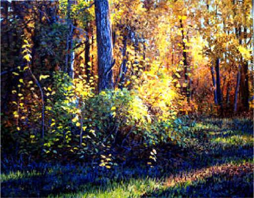 Autumn's Evening Glow Karoll Dalyce Brinton