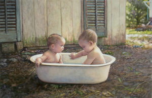 Baby Bath Steve Hanks