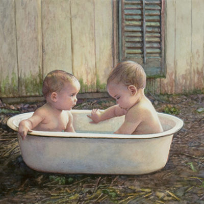 Baby Bath Steve Hanks