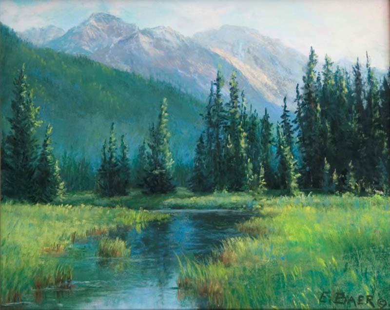 Banff, Vermilion Lakes, AB - Elsie Baer