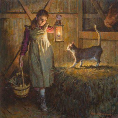 Barn Cat - Morgan Weistling