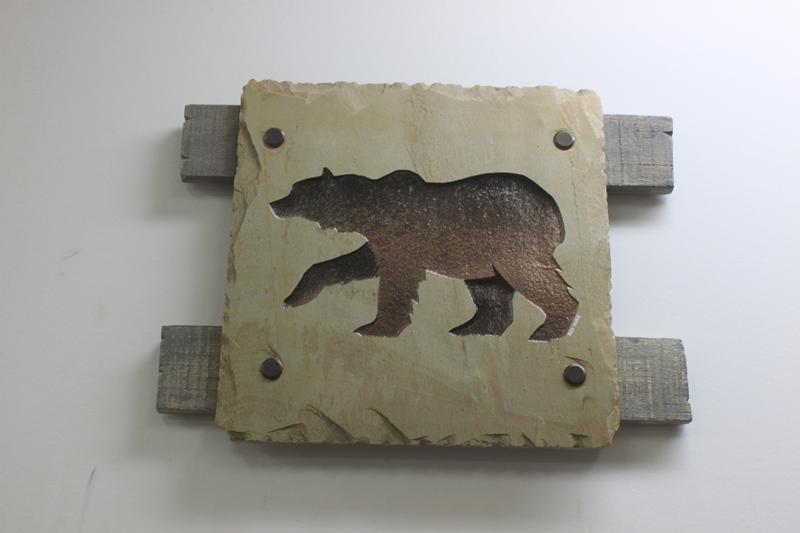 Bear Slate Roy Hinz