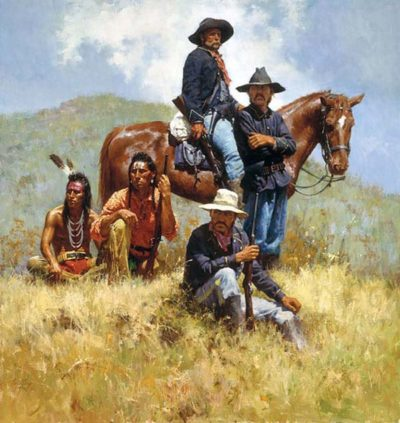 Before the Little Big Horn - Howard Terpning