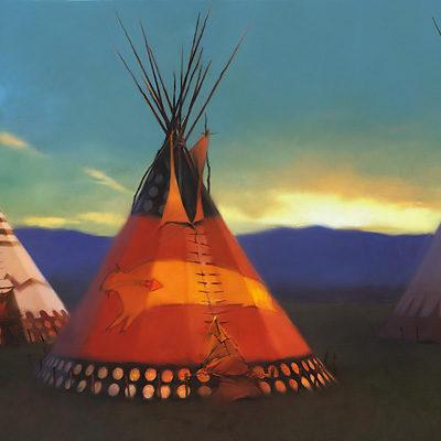 Blackfeet Country R. Tom Gileon