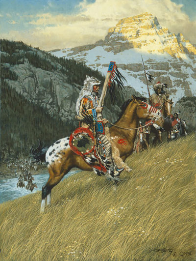 Blackfoot Raiders - Frank McCarthy