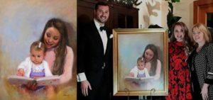 Blog - Artist Catherine Marchand Paints Celebrity Portrait